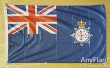 NATIONAL FIRE SERVICE BOAT ENSIGN  ANYFLAG RANGE - VARIOUS SIZES